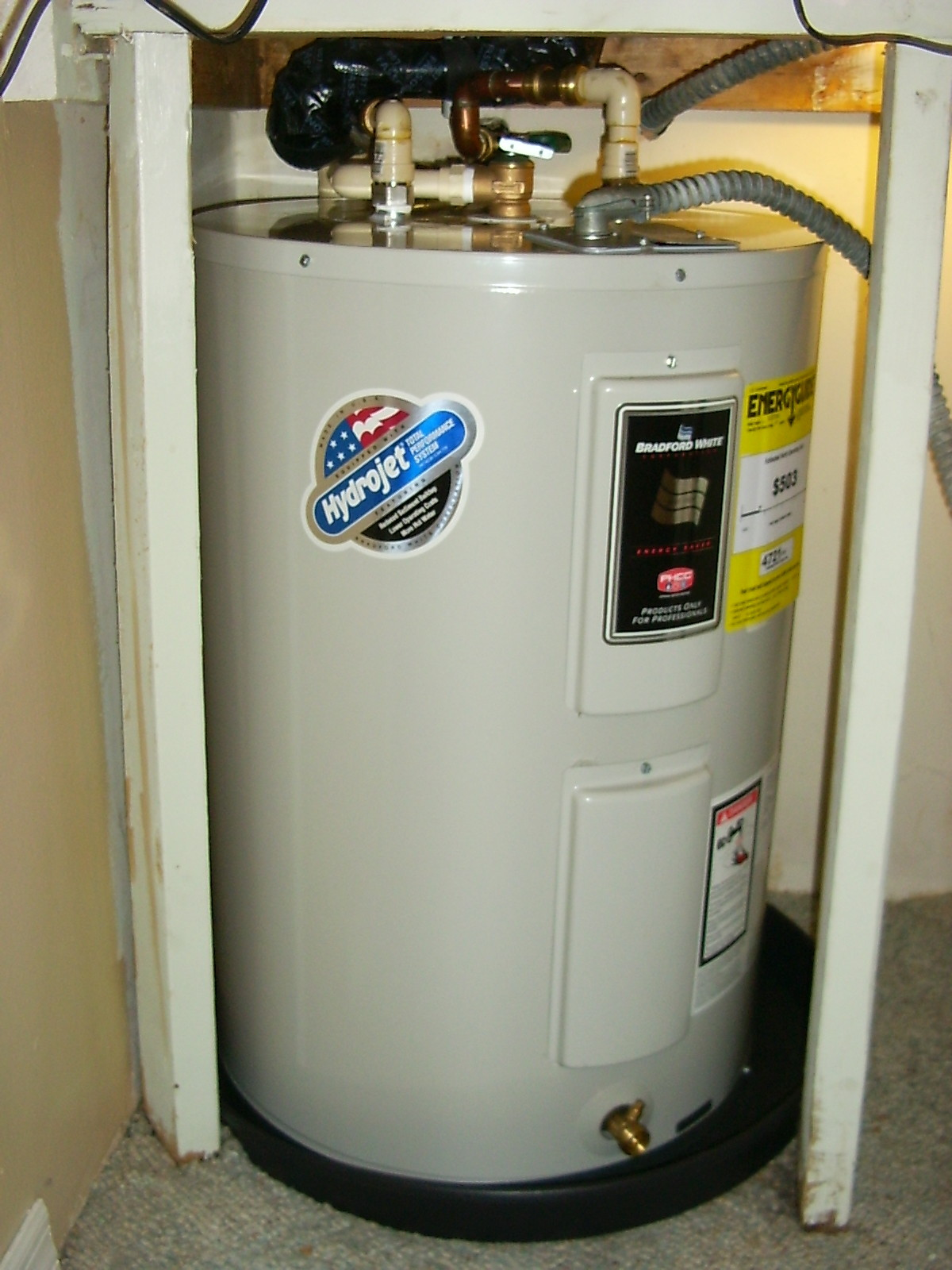 Water heater whether you hydrojet water heater efficient for Efficient hot water systems